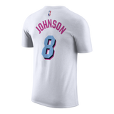 Tyler Johnson Nike Miami HEAT Vice Uniform City Edition Youth Name & Number Tee - 2