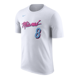 Tyler Johnson Nike Miami HEAT Vice Uniform City Edition Youth Name & Number Tee - 1