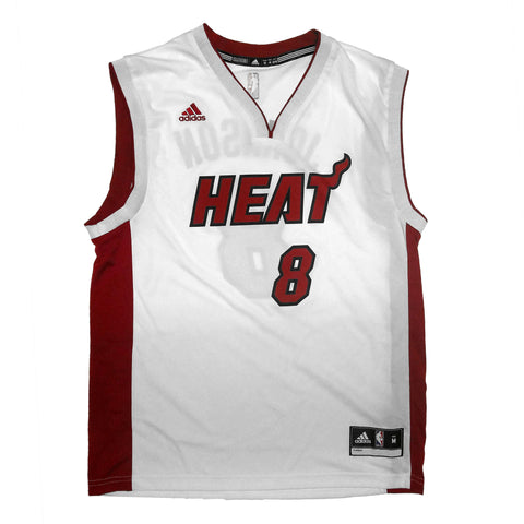 TYLER JOHNSON  MIAMI HEAT ADIDAS  REPLICA JERSEY
