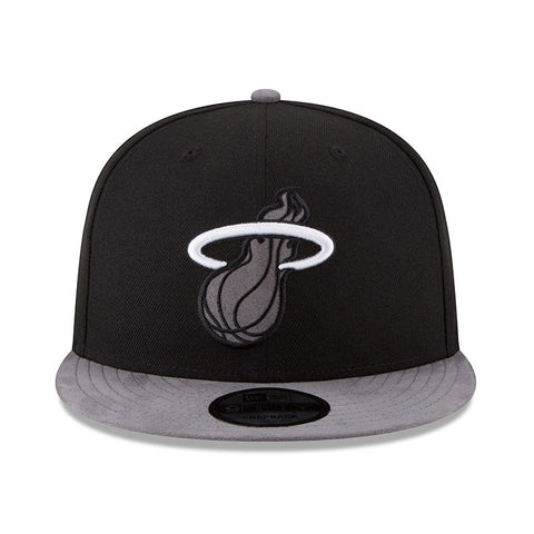 New ERA Black Tonal Suede Snapback