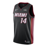 Tyler Herro Nike Icon Black Swingman Jersey - 1