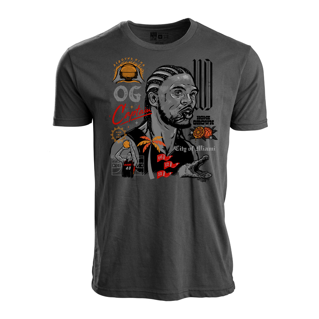 Court Culture Udonis Haslem Accolades Men's Tee - featured image