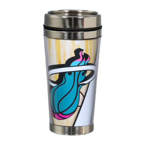 Miami HEAT Vice Nights Stainless Steel Tumbler