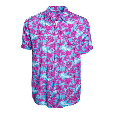 Court Culture Floral Fridays Button-Up Shirt
