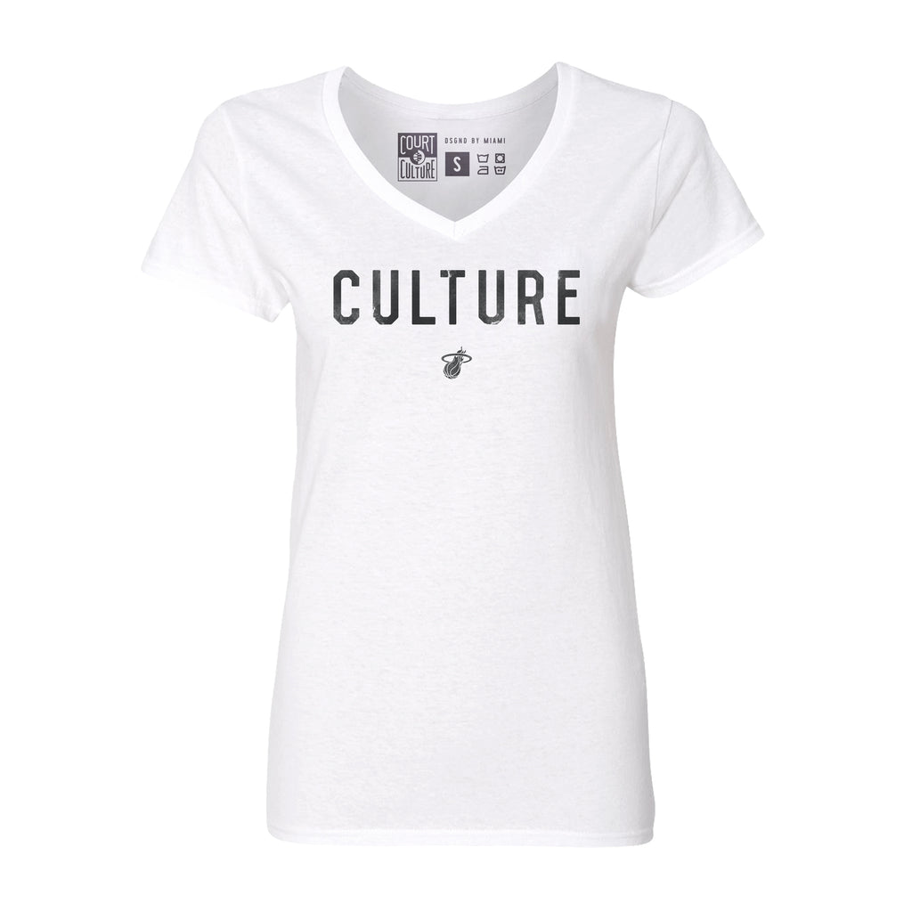 Culture Ladies White Hot Tee - featured image