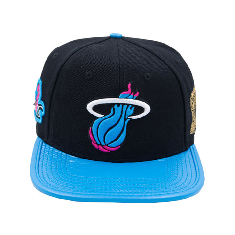Pro Standard Dwyane Wade Vice Nights Leather Strapback