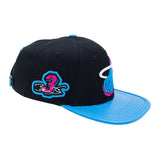 Pro Standard Dwyane Wade Vice Nights Leather Strapback - 2