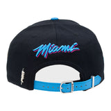 Pro Standard Dwyane Wade Vice Nights Leather Strapback - 4