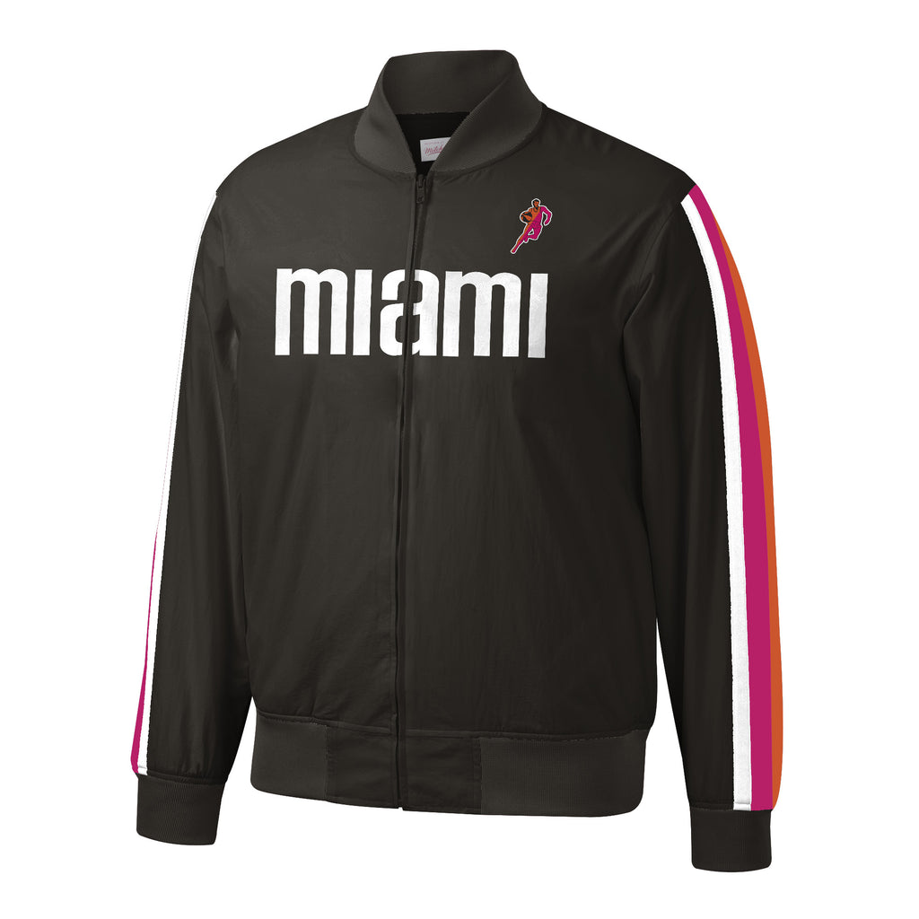 Mitchell & Ness Miami Floridians Hook Shot Warm Up Jacket - featured image