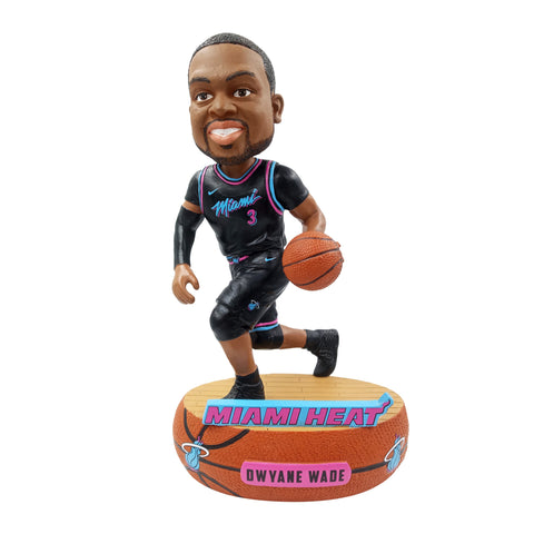 312ff11ea60 Dwyane Wade Nike Miami HEAT Vice Nights Swingman Jersey  120.00. Forever  Collectibles Vice Nights Wade Bobble Head