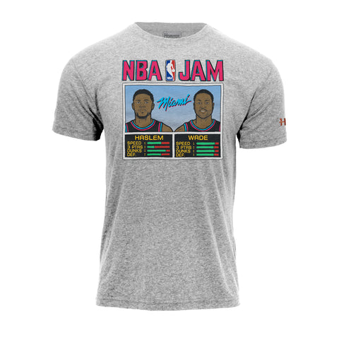 Homage Wade & Haslem NBA JAM Vice Nights Tee