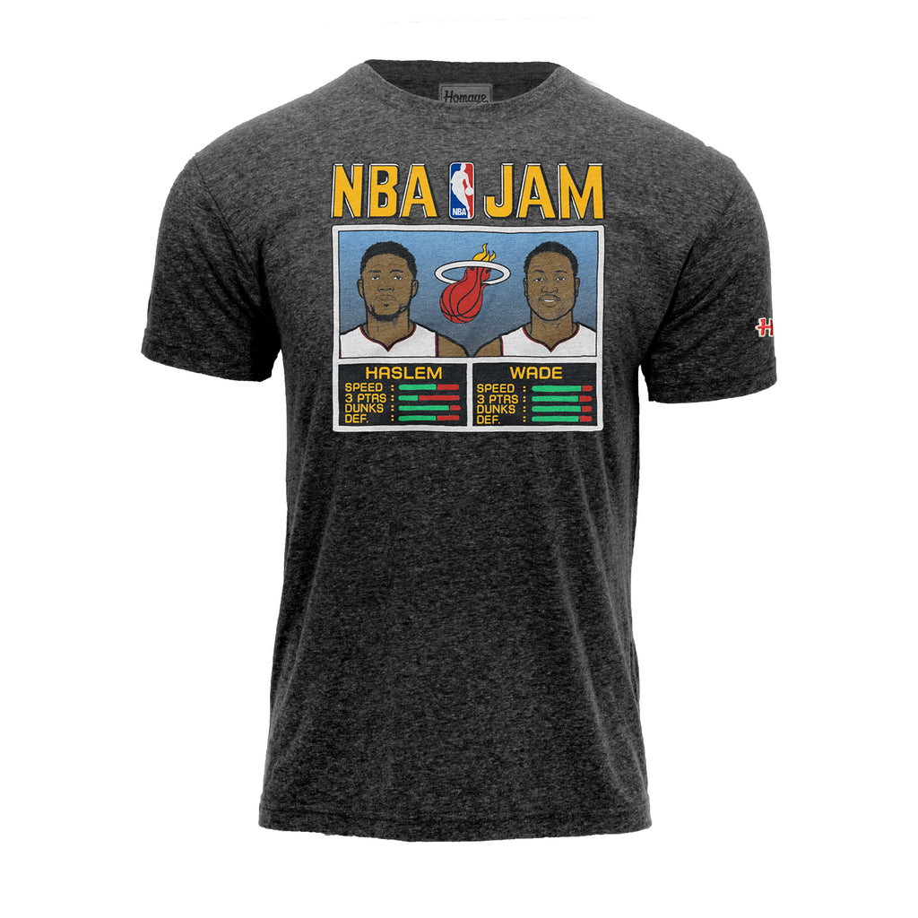 Homage Wade & Haslem NBA JAM Tee - featured image
