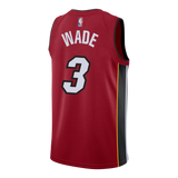 Dwyane Wade Nike Miami HEAT Statement Red Youth Swingman Jersey - 2