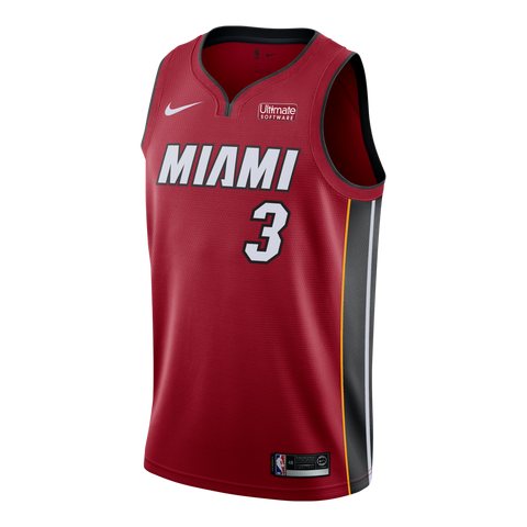 Dwyane Wade Nike Miami HEAT Statement Red Swingman Jersey