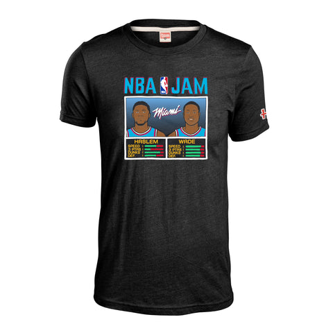 Homage Wade & Haslem NBA JAM Vice Wave Tee