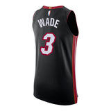 Dwyane Wade Nike Icon Black Authentic Jersey - 2