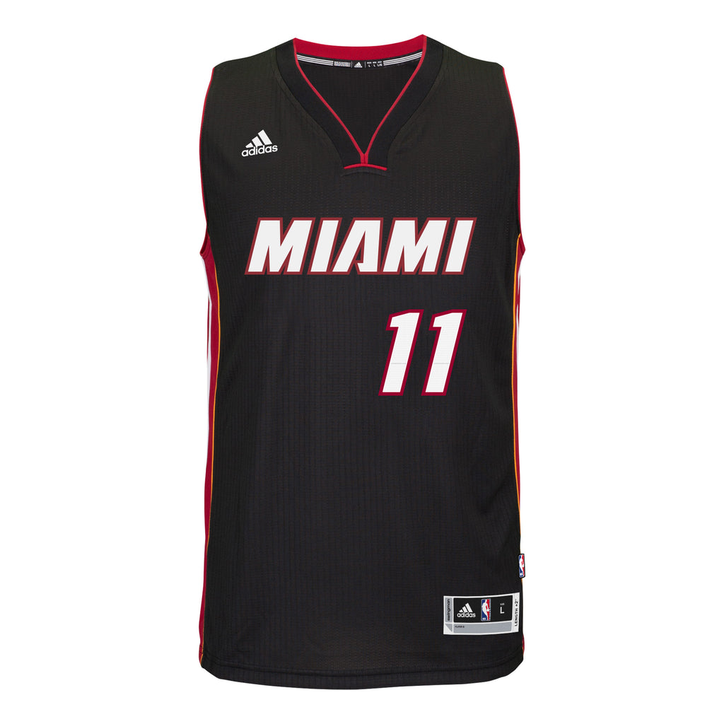 Dion Waiters Miami HEAT adidas Road Swingman Jersey Black