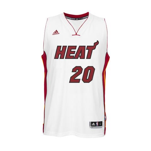 Justise Winslow Miami HEAT adidas Home Youth Swingman Jersey White