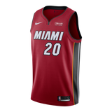 Justise Winslow Nike Miami HEAT Youth Statement Red Swingman Jersey - 1