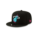 New ERA Miami HEAT Vice Nights City Series Youth Snapback - 3