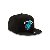 New ERA Miami HEAT Vice Nights City Series Youth Snapback - 4