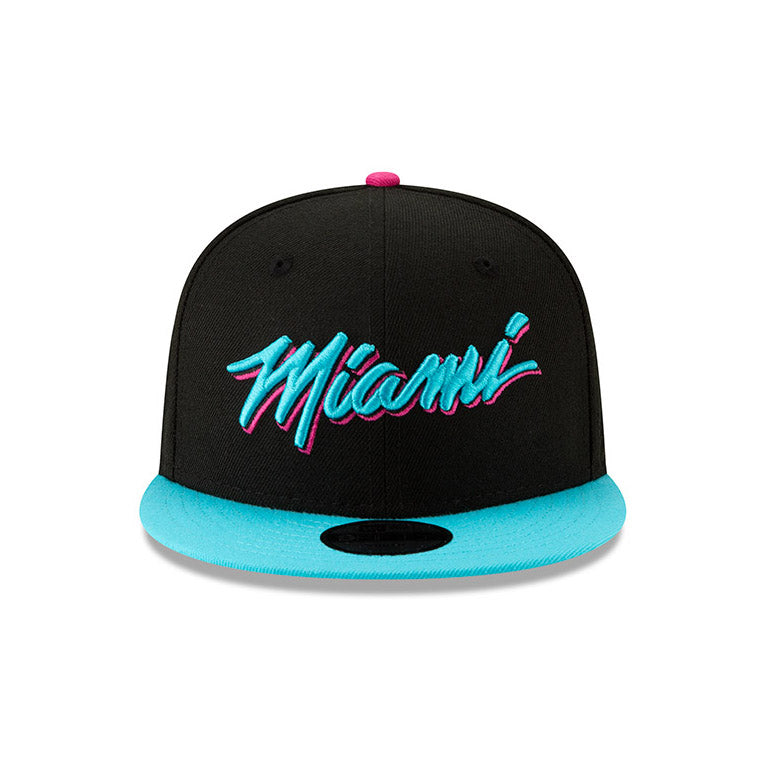 New ERA Miami HEAT Vice Nights City Series MIAMI Youth Snapback - featured image