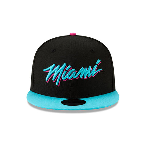 New ERA Miami HEAT Vice Nights City Series MIAMI Youth Snapback