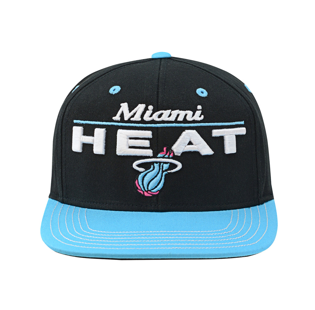 Miami HEAT Vice Nights Youth Retro Bar Snapback - featured image