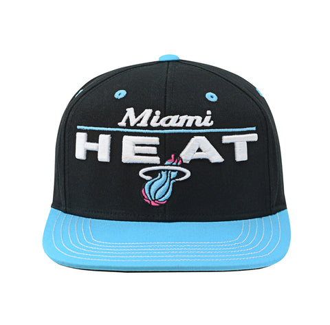 Miami HEAT Vice Nights Youth Retro Bar Snapback