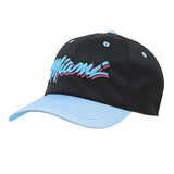 Miami HEAT Vice Nights Youth Satin Mesh Slouch Hat - 3