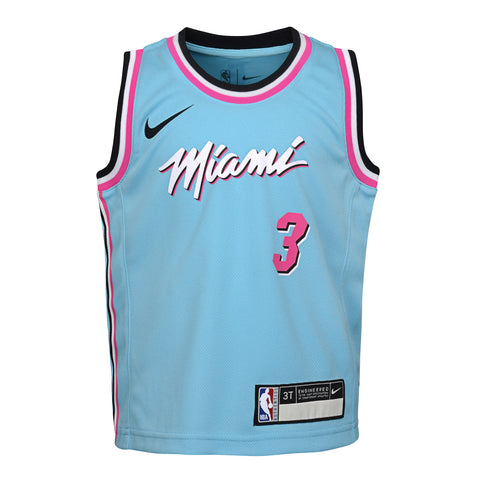 Dwyane Wade Nike ViceWave Replica Toddler Jersey