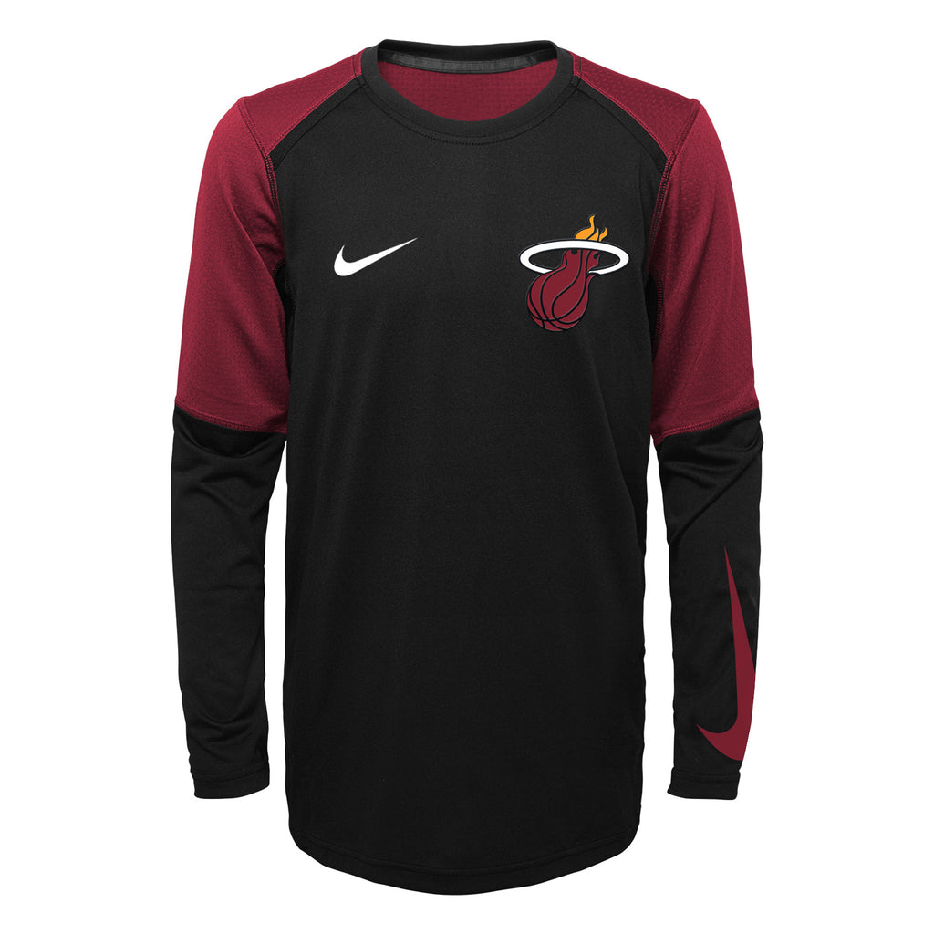 Nike Miami HEAT Youth Long Sleeve Shooter - featured image