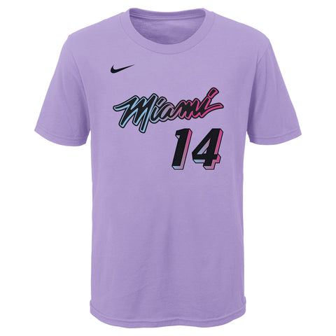 Tyler Herro Nike ViceVersa Name & Number Youth Tee