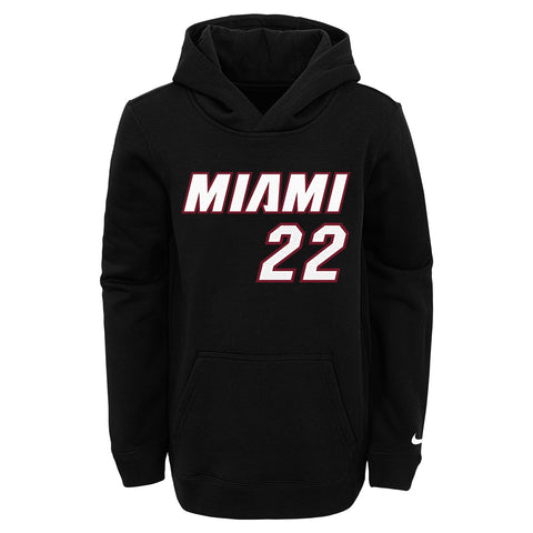 Jimmy Butler Nike Icon Black Name and Number Youth Hoodie