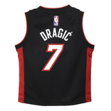 Goran Dragic Nike Miami HEAT Infant Black Replica Jersey - 2