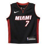 Goran Dragic Nike Miami HEAT Infant Replica Jersey Black - 1