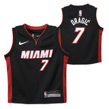 Goran Dragic Nike Miami HEAT Infant Black Replica Jersey - 3