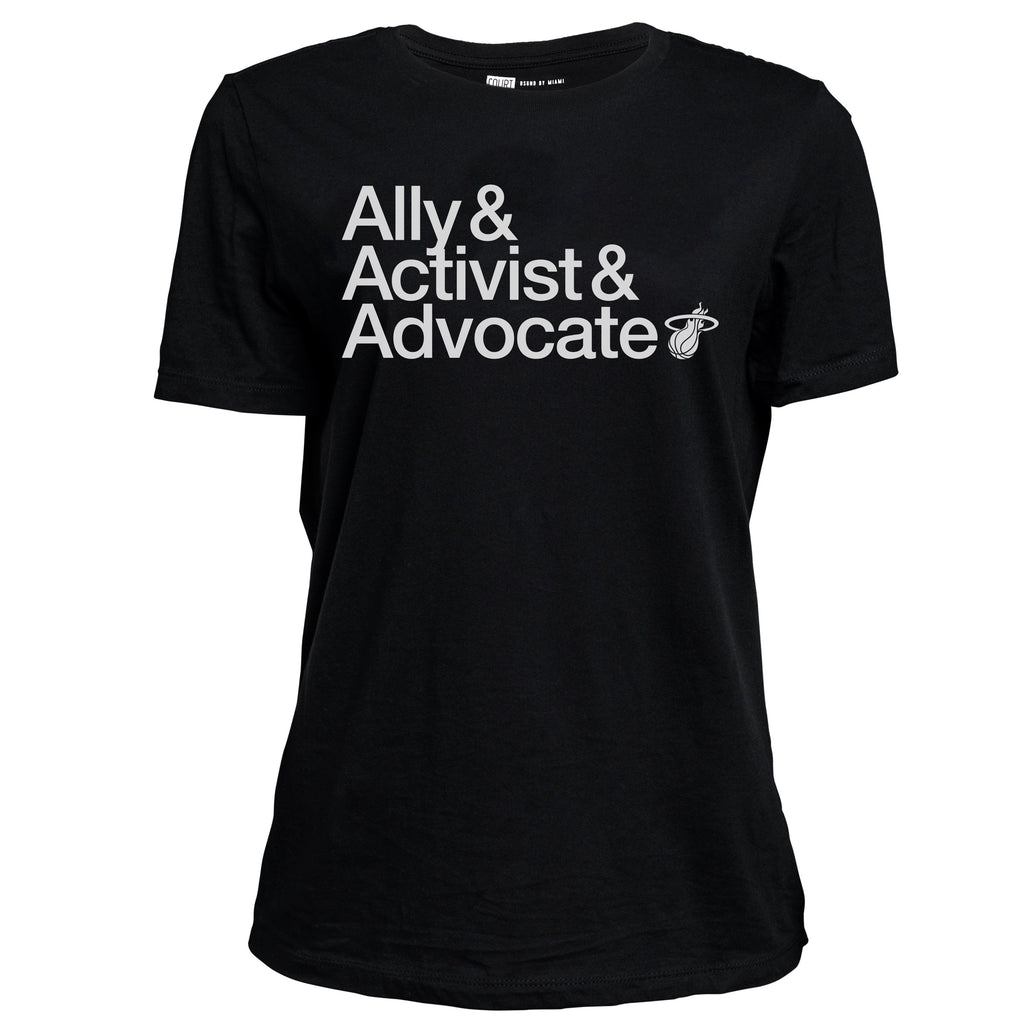 Court Culture Ally/Activist/Advocate Ladies Tee - featured image