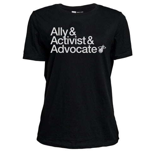 Court Culture Ally/Activist/Advocate Ladies Tee