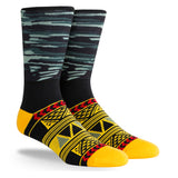 PKWY Dwyane Wade Remix Collision of Course 3 Pack Socks - 4