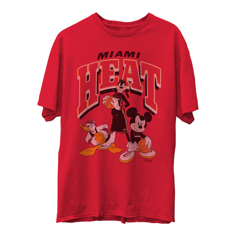 Junk Food Disney Group HEAT Tee