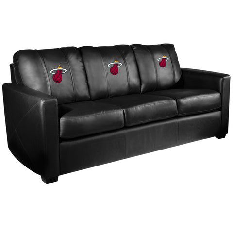 Miami HEAT Silver Sofa