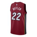 Jimmy Butler Nike Miami HEAT Statement Red Swingman Jersey - 2