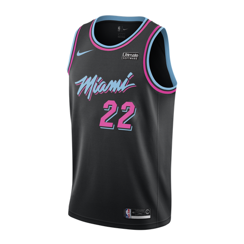 Jimmy Butler Nike Miami HEAT Youth Vice Nights Swingman Jersey