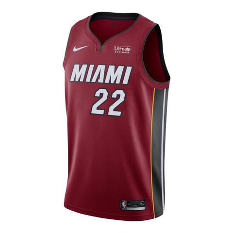 Jimmy Butler Nike Miami HEAT Statement Red Swingman Jersey
