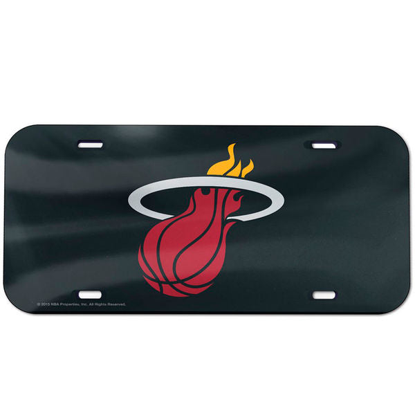 Wincraft Miami HEAT License Plate - featured image