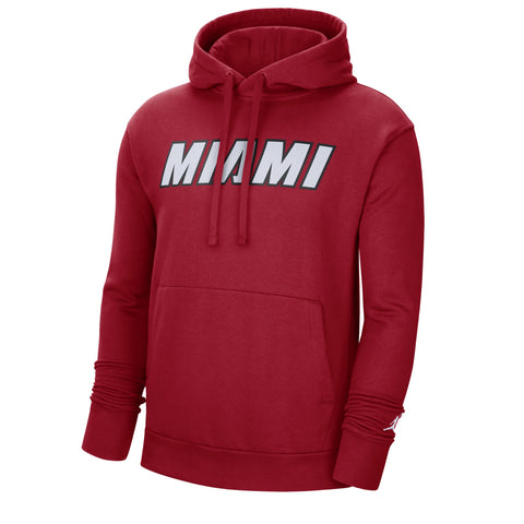 Jordan Brand HEAT Fleece Statement Red Hoodie