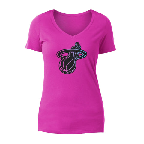 New Era ViceVersa Ladies V-Neck Tee
