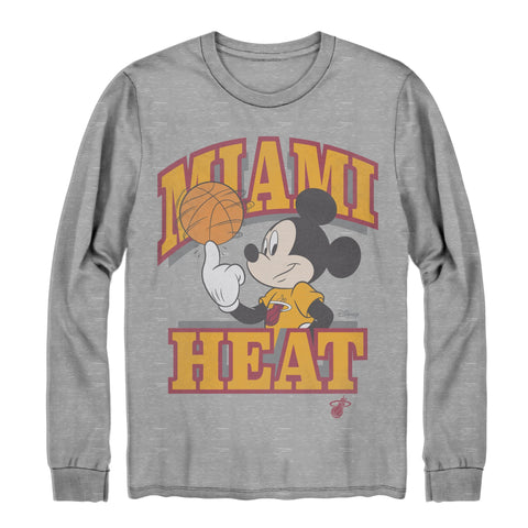 Junk Food HEAT Mickey Long Sleeve Tee