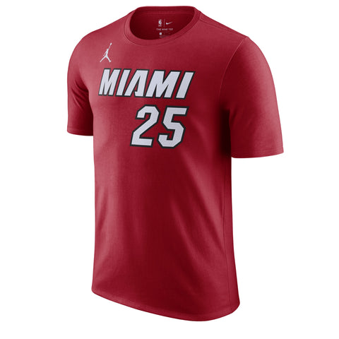 Kendrick Nunn Jordan Brand Statement Red Name & Number Tee